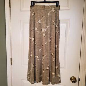 NWOT Vintage Frazier Lawrence Floral Long Skirt